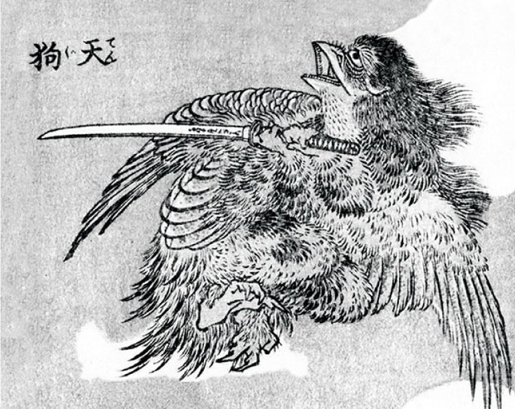 シーボルト著『NIPPON』挿絵 福岡県立図書館蔵