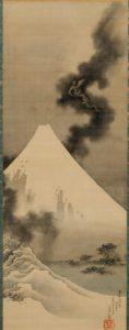 学芸員のつぶやき 「富士越龍図」