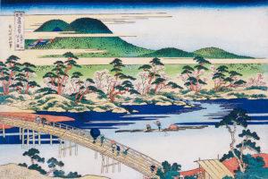北斎と一緒に、日本各地の旅へでかけよう。