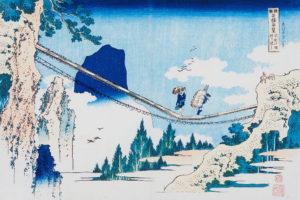 大胆な構図で表現された日本の名橋を辿る